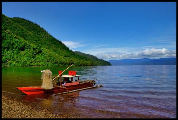 Perahu Nelayan Soroako