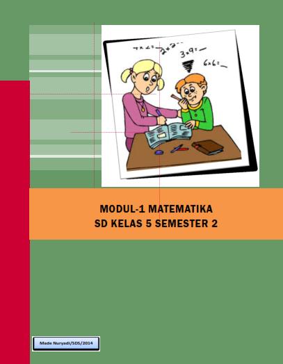 Modul 1 Matematika Kelas 5 Semester 2 Made Nuryadi