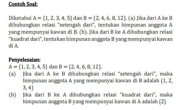 Soal Latihan Relasi Dan Fungsi Smp Kelas 8 Made Nuryadi