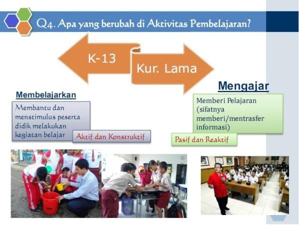 Perubahan Pendekatan pada Pembelajaran K-13